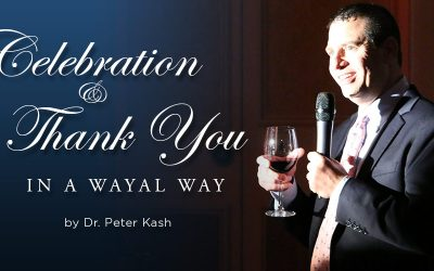 A Celebration and Thank You in a Wayal Way