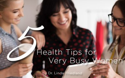 5 Health Tips For Very Busy Women