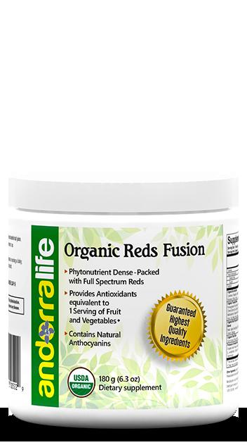 Organic Reds Fusion (Exp 06/19)