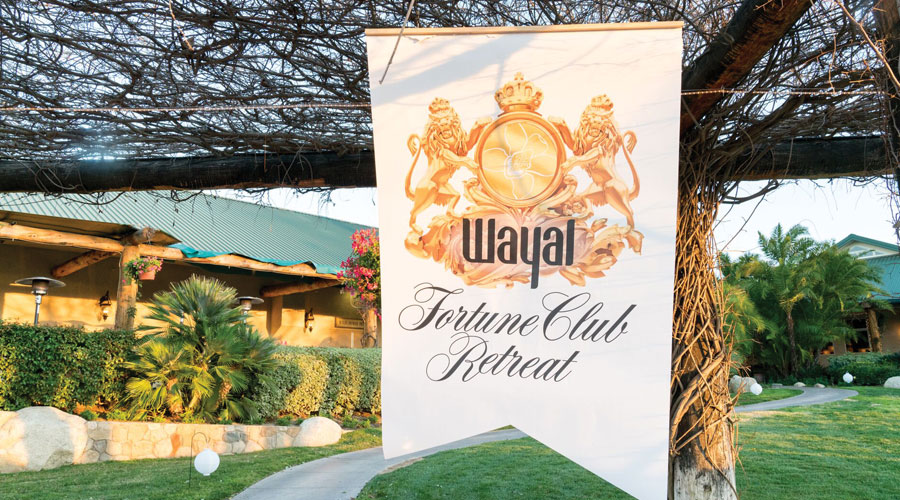 The Wayal Fortune 50 Club Retreat