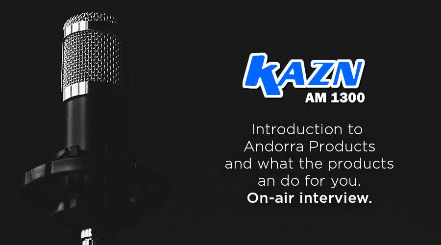 KAZN AM 1300 On-Air Interview
