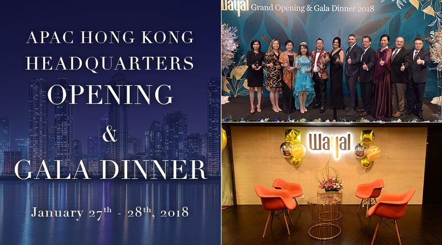 APAC Hong Kong Headquarters Opening and Recognition Gala