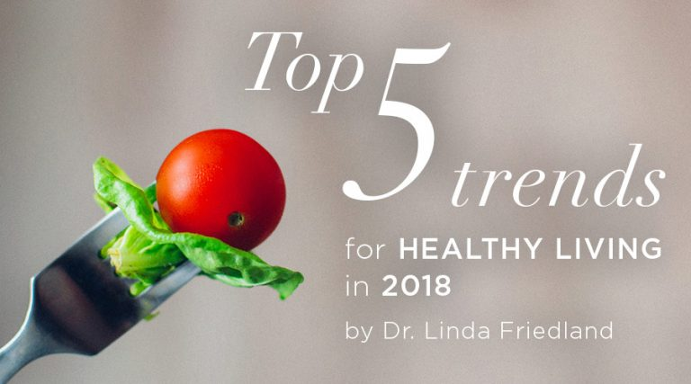 Top 5 Trends for Healthy Living in 2018