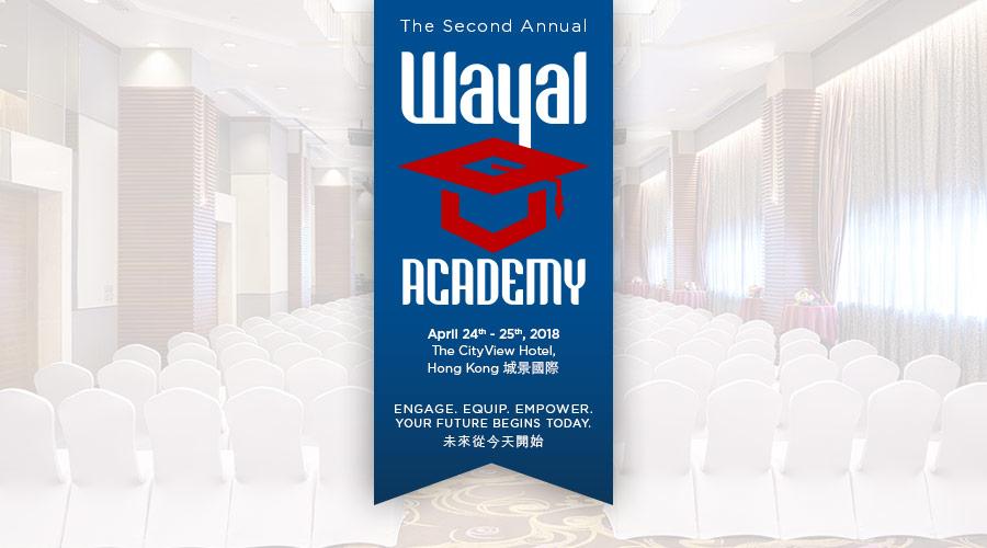 The 2nd Annual Wayal Academy
